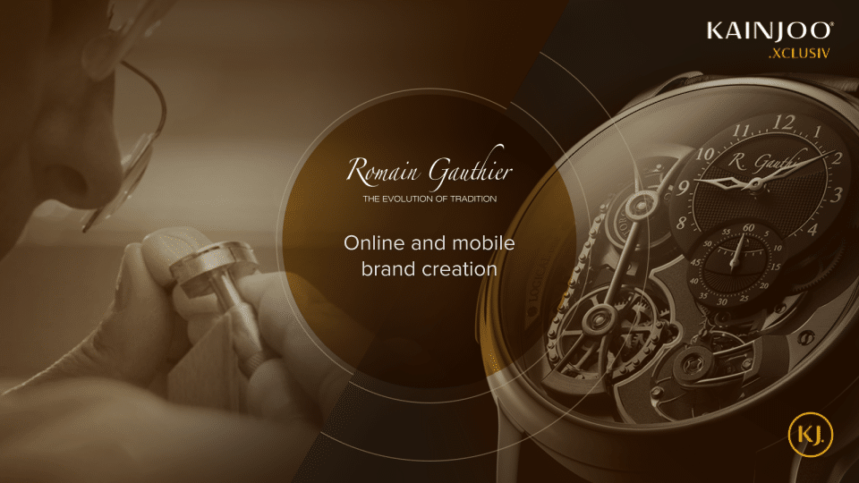 Romain Gauthier Online and Offline Presence Creation